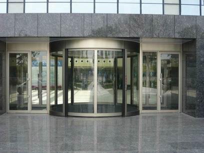 弧形自动门可分为:全圆弧形自动门,半圆弧形自动门.
